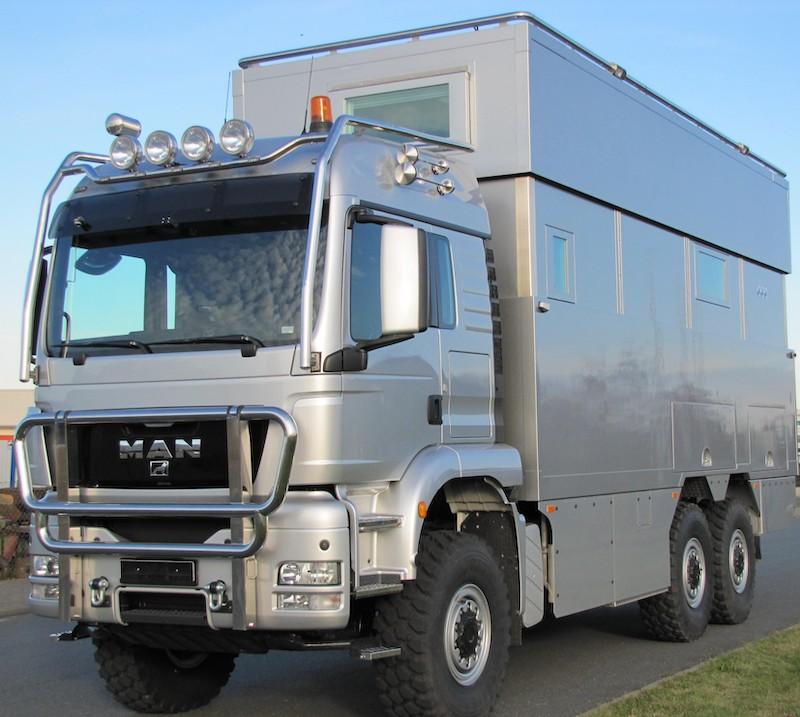 all terrain camper truck 6x6